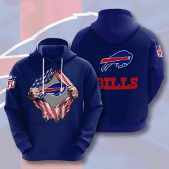 NFL Buffalo Bills 3D Hoodie V1