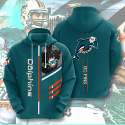 NFL Miami Dolphins 3D Hoodie V1
