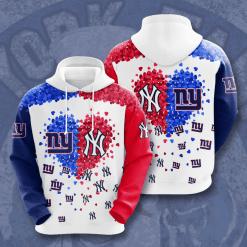 NFL New York Giants 3D Hoodie V1