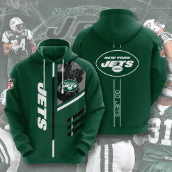 NFL New York Jets 3D Hoodie V1