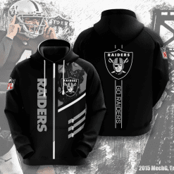 NFL Oakland Raiders 3D Hoodie V1