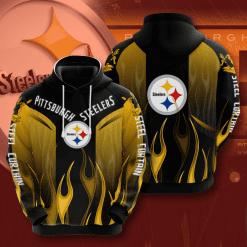 NFL Pittsburgh Steelers 3D Hoodie V1