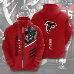 NFL Atlanta Falcons 3D Hoodie V1