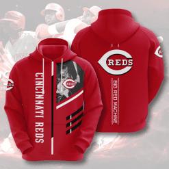 MLB Cincinnati Reds 3D Hoodie V1