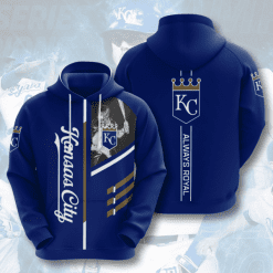 MLB Kansas City Royals 3D Hoodie V1