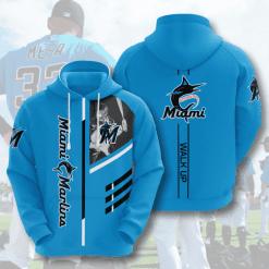 MLB Miami Marlins 3D Hoodie V1