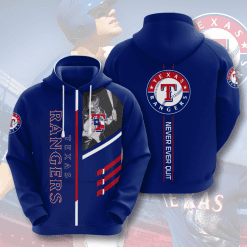 MLB Texas Rangers 3D Hoodie V1