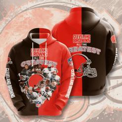 NFL Cleveland Browns 3D Hoodie V1
