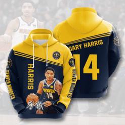 NBA Denver Nuggets 3D Hoodie V1