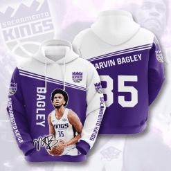 NBA Sacramento Kings 3D Hoodie V1