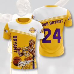 NBA Los Angeles Lakers 3D T-Shirt V1