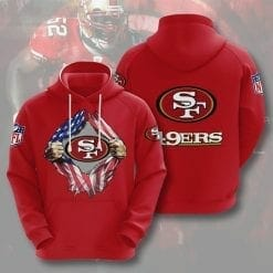 NFL San Francisco 49ers 3D Hoodie V1