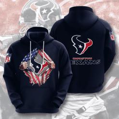 NFL Houston Texans 3D Hoodie V1