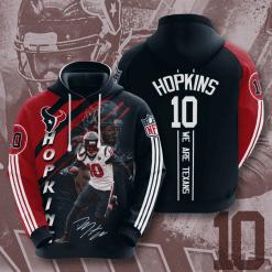 NFL Houston Texans 3D Hoodie V10