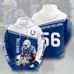 NFL Indianapolis Colts 3D Hoodie V10