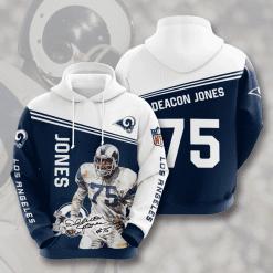 NFL Los Angeles Rams 3D Hoodie V10