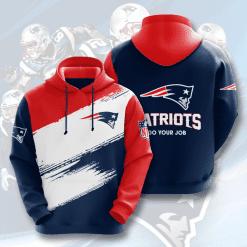 NFL New England Patriots 3D Hoodie V10
