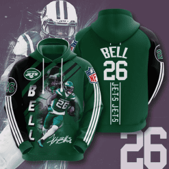 NFL New York Jets 3D Hoodie V10