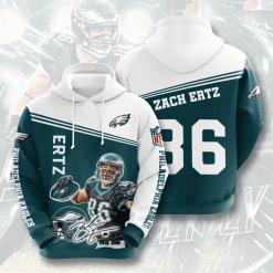 NFL Philadelphia Eagles 3D Hoodie V10-