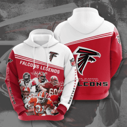 NFL Atlanta Falcons 3D Hoodie V10
