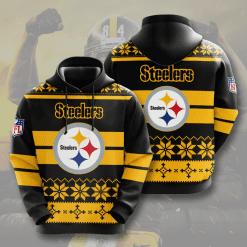 NFL Pittsburgh Steelers 3D Hoodie V10