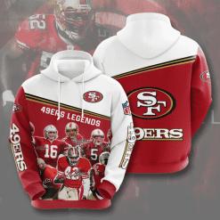 NFL San Francisco 49ers 3D Hoodie V10