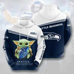 NFL Seattle Seahawks 3D Hoodie V10