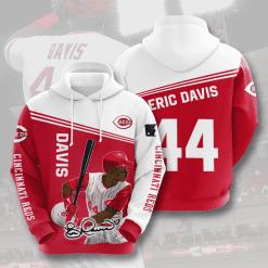 MLB Cincinnati Reds 3D Hoodie V10