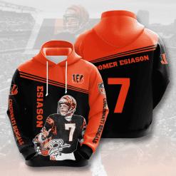 NFL Cincinnati Bengals 3D Hoodie V10