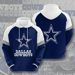 NFL Dallas Cowboys 3D Hoodie V10