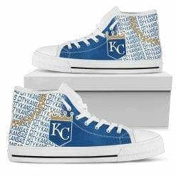 MLB Kansas City Royals High Top Shoes