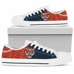 MLB Detroit Tigers Low Top Shoes