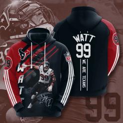 NFL Houston Texans 3D Hoodie V11