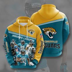 NFL Jacksonville Jaguars 3D Hoodie V11