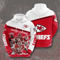 NFL Kansas City Chiefs 3D Hoodie V11
