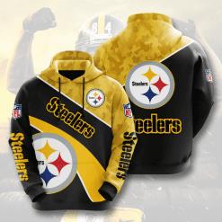 NFL Pittsburgh Steelers 3D Hoodie V11