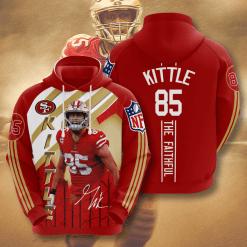 NFL San Francisco 49ers 3D Hoodie V11