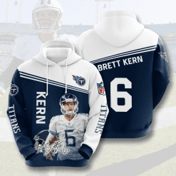 NFL Tennessee Titans 3D Hoodie V11