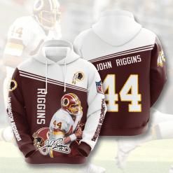 NFL Washington Redskins 3D Hoodie V11