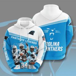 NFL Carolina Panthers 3D Hoodie V11