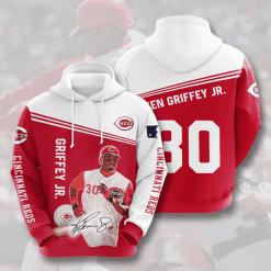 MLB Cincinnati Reds 3D Hoodie V11