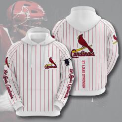 MLB St. Louis Cardinals 3D Hoodie V11