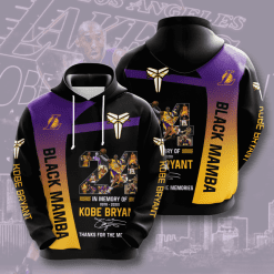 NBA Los Angeles Lakers 3D Hoodie V11