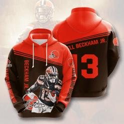 NFL Cleveland Browns 3D Hoodie V11