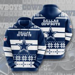 NFL Dallas Cowboys 3D Hoodie V11