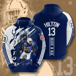 NFL Indianapolis Colts 3D Hoodie V12