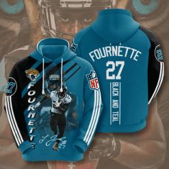 NFL Jacksonville Jaguars 3D Hoodie V12
