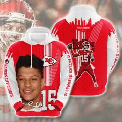 NFL Kansas City Chiefs 3D Hoodie V12