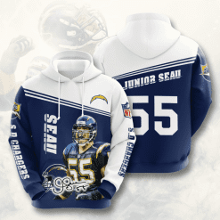 NFL Los Angeles Chargers 3D Hoodie V12