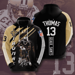 NFL New Orleans Saints 3D Hoodie V12